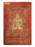 A Tibetan ThangKa Depicting Ratnashambhava  Early 14th Century