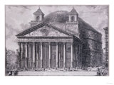 A View of the Pantheon  Rome  1761-1768