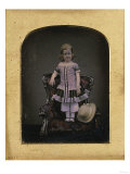 A Young Girl from a Scottish Family  Before 1855