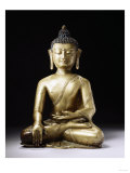 A Tibetan Bronze Figure of Buddha Sakyamuni  Late 13th Century