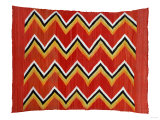 A Navajo Transitional Wedgeweave Blanket