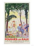Pougues Les Eaux  Plm  1935