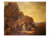 The Meeting of Abraham and Melchisidek