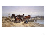Waiting for the Ferry  1881