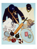 A Selection of Cricket and Tennis Sporting Memorabilia