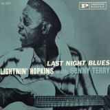 Lightnin' Hopkins - Last Night Blues