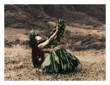 Offering to Pele  Hawaiian Hula Dancer