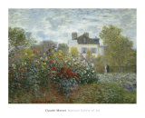 The Artist&#39;s Garden in Argenteuil  c1873