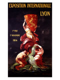Exposition Internationale Lyon  1914