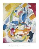 Improvisation 31 (Sea Battle) 1913 Reproduction d'art par Wassily Kandinsky