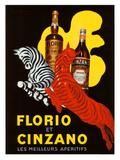 Florio et Cinzano Apertifs Giclée par Leonetto Cappiello