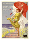 Exposition de Monaco  1920