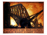 The Forth Bridge  LNER East Coast Route