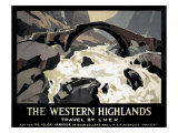 The Western Highlands  Travel by LNER