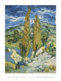 The Poplars at Saint-Remy  c1889