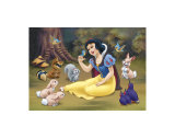 Snow White&#39;s Forest Friends