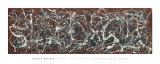 Nombre 13A: Arabesque|Number 13A: Arabesque Reproduction d'art par Jackson Pollock