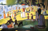 A Sunday on La Grande Jatte 1884  1884-86