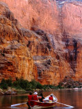 Rowing on Colorado River  Grand Canyon National Park  Arizona