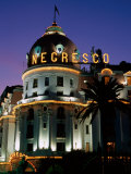 Hotel Negresco at Night  Nice  Provence-Alpes-Cote d'Azur  France