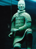 Life Size Terracotta Statue Kneeling Archer  Xi'an  Shaanxi  China