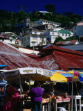 Public Market on Saturday  St George's  St George  Grenada