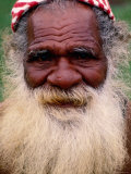 Kanak Elder  Noumea  South Province  New Caledonia