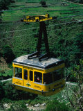 Cable-Car Travelling Up Mountain  Merida  Venezuela