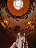 Interior Rotunda of State Capitol Building  Raleigh  North Carolina