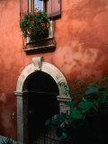 Building Facade on Piazza Bra  Verona  Veneto  Italy