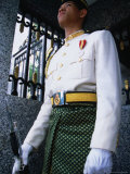 King&#39;s Guard Stands Stoic Watch Outside Istana Negara  Kuala Lumpur  Wilayah Persekutuan  Malaysia