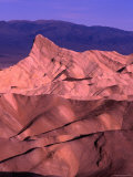 Land Formation from Zabriskie Point at Sunrise  Nevada