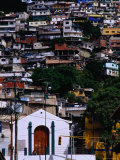 Suburb on Hill in el Hatillo Area  Caracas  Distrito Federal  Venezuela