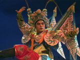 Chinese Opera Performer at Sheng Hong Temple  Singapore