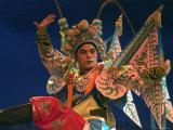 Chinese Opera Performer at Sheng Hong Temple  Singapore