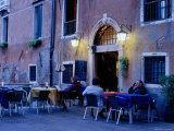 Cafe Life in Venice  Venice  Italy
