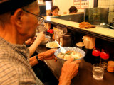People Eating Lunch at Ramen Tei  Asakusa  Tokyo  Kanto  Japan
