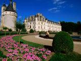 Chateau de Chenonceau with Catherine de Medici's Garden  Chenonceaux  Centre  France