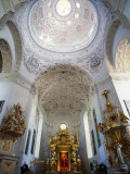 Interior of St Anne Church  Koden  Lubelskie  Poland
