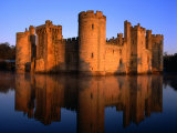 Bodiam Castle at Sunrise  East Sussex  England
