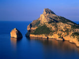 Formentor Peninsula from Es Colomer  Mallorca  Balearic Islands  Spain