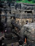 Kailasa Temple  Ellora  Maharashtra  India