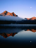 Dawn at Stanley Lake  Sawtooth Mountains  Near Stanley  Stanley  Idaho