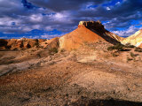 Eroded Landscape  Painted Desert  Coober Pedy  South Australia