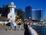 Seaport Village in San Diego  San Diego  California