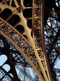 Eiffel Tower Architectural Detail  Paris  Ile-De-France  France