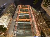 The HSBC Bank Building and Surrounding Towers in Central  Hong Kong  Hong Kong  China