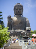 Tian Tan Buddha Statue  Lantau Island  Lantau Island  Hong Kong  China
