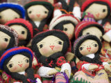 Close-Up of Bolivian Dolls for Sale  La Paz  Bolivia