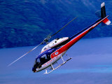Helicopter About to Land  Queenstown  New Zealand